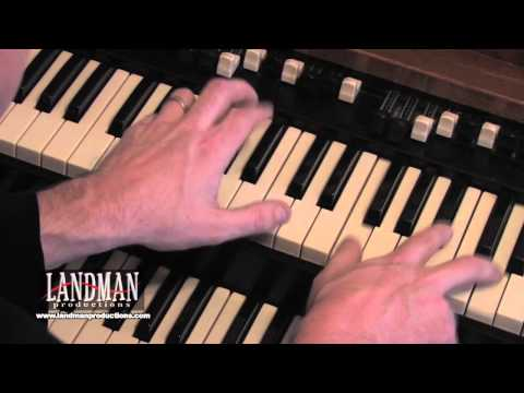 Free Keyboard Lesson Funk Technique 1 by Landman The Hammond Man
