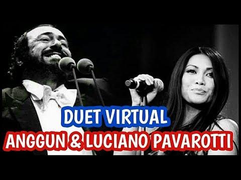 DUET VIRTUAL ANGGUN & LUCIANO PAVAROTTI - ASIA'S GOT TALENT Mp3