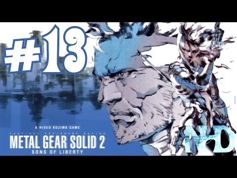Let's Play Metal Gear Solid 2 Substance (pt13) Freezing Bombs