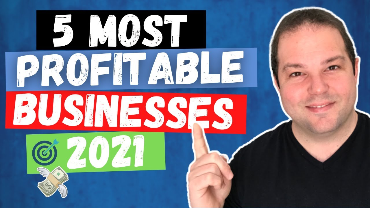 Download 5 Profitable Business Ideas For 2021 (Make Money Online)