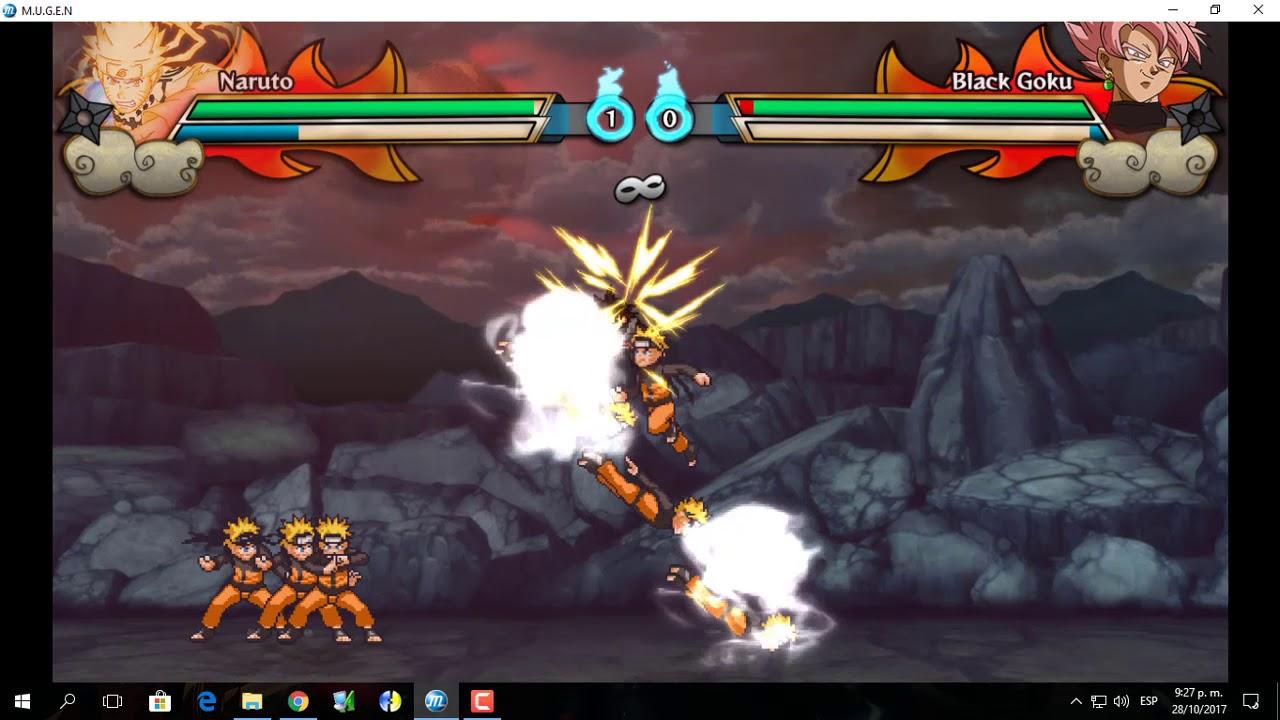 el mugen de naruto ultimate ninja storm skydrive