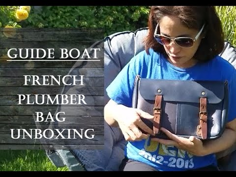 Guideboat French Plumber Bag, an Unboxing
