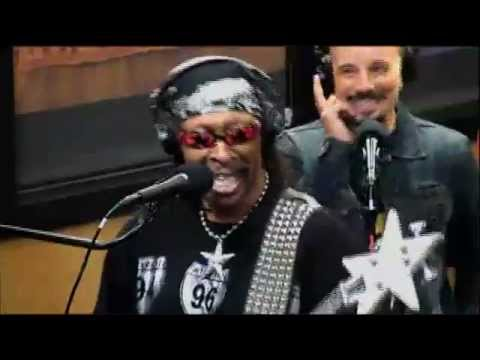 Bootsy at Tom Joyner In Studio Jam Part 1  Stretchin Out