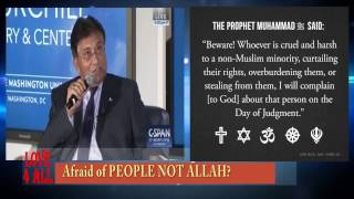 Gen PERVEZ  MUSHARRAF Scared of Molvies not the ALLAH. EX-Army Chief is Scared