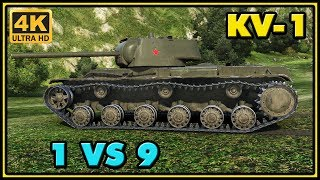 World of Tanks | KV-1 - 13 Kills - 3K Damage - 1 VS 9 Gameplay