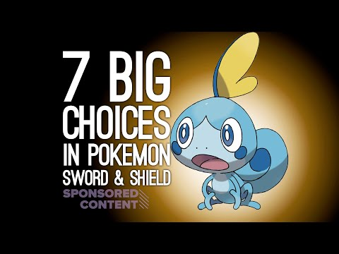 7 Big Choices Every Pokemon Trainer Will Face in Pokemon Sword & Shield (Sponsored Content)