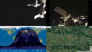Slow Sunrise Over Europe - NASA/ESA ISS LIVE Space Station With Map - 30 - 2018-07-18