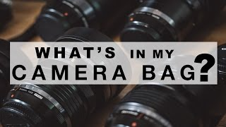 Whats In My Camera Bag - Olympus Visionary Chris Eyre-Walker