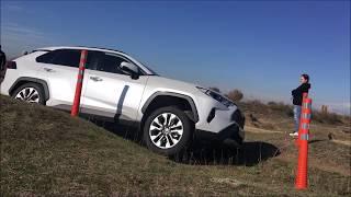 Новый Toyota RAV4 2020 на тест-драйве