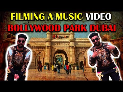 FILMING A MUSIC VID IN BOLLYWOOD PARK DUBAI  | The Great Mohammad Ali