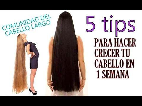 Que usar para hacer crecer el cabello