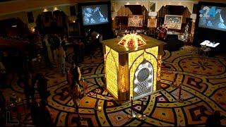 هذا هو أول مسجد مصمم من العنبر في العالم