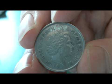 The coin channel  20    Gibraltar 1998 10 pence
