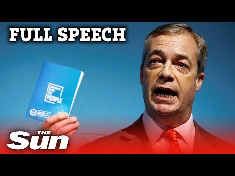 The Brexit Party's election contract in full   Nigel Farage