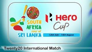 Sri Lanka vs South Africa 2018, T20I Match