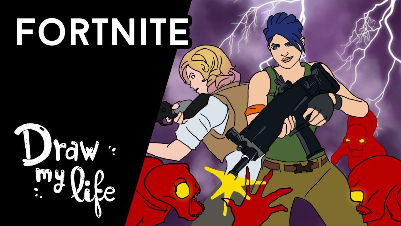 TODO sobre FORTNITE - Draw My Life