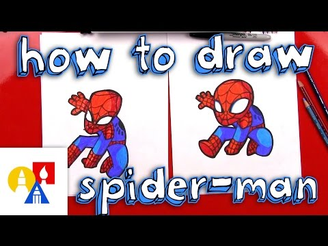 How To Draw Cartoon Spider