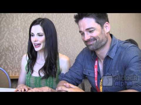 Laura Mennell, Warren Christie Share 'Alphas' Season 2 Secrets