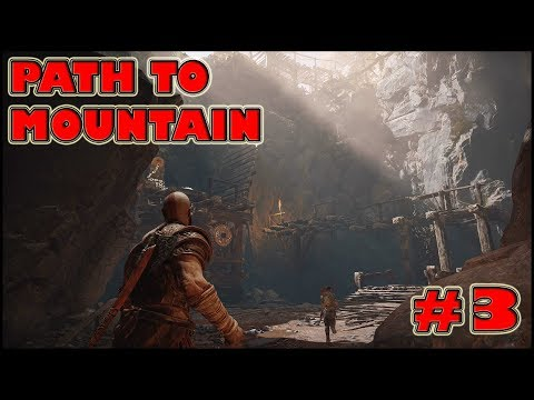 GOD OF WAR 4 Path to the Mountain Gameplay Part 3 [PS4] - No Commentary