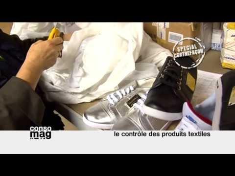 Contrefaçon : le contrôle des produits textiles