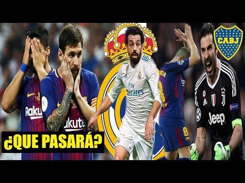 Barça perdería LA LIGA si pasa ESTO   MADRID quiere a SALAH?   INIESTA dice Adiós   BUFFON en BOCA?