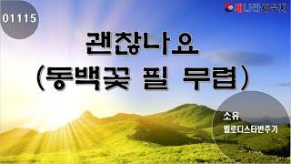 [새나라 노래방]1115 괜찬나요 (동백꽃 필 무렵)/소유