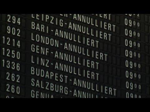 Airport strike affects 90,000 passengers at Frankfurt airport