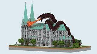 minecraft cathedral wyrm
