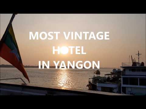 Vintage Luxury Yacht Hotel Myanmar - Most Vintage Hotel in Yangon
