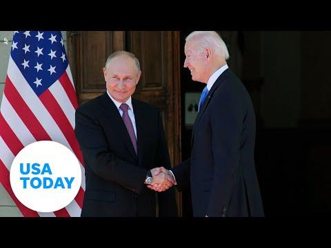 President Biden and Russian President Vladimir Putin meet in Geneva | USA TODAY