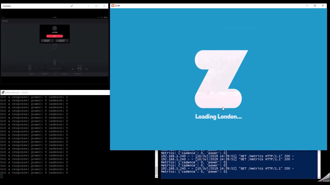 How to ride Peloton Bike on Zwift with Python and Raspberry Pi