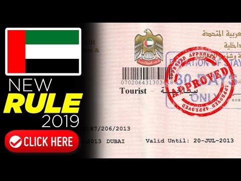 DUBAI NEW RULE FOR VISIT VISA 2019 | GOOD NEWS FOR TOURIST VISA VISITOR IN UAE 2019