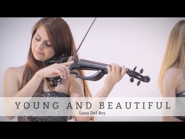 Young and Beautiful | Lana Del Rey| Bravo Music Events Electric String Trio