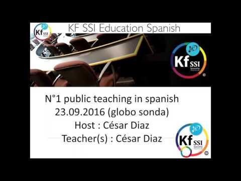 2016 09 23 AM Public Teaching in Spanish - Enseñanzas públicas en Español