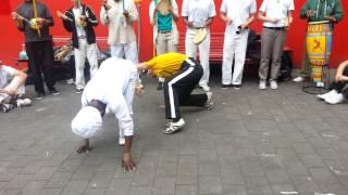 Capoeira Angola in Sydney - Mestre Roxinho & Contra Mestra Gege