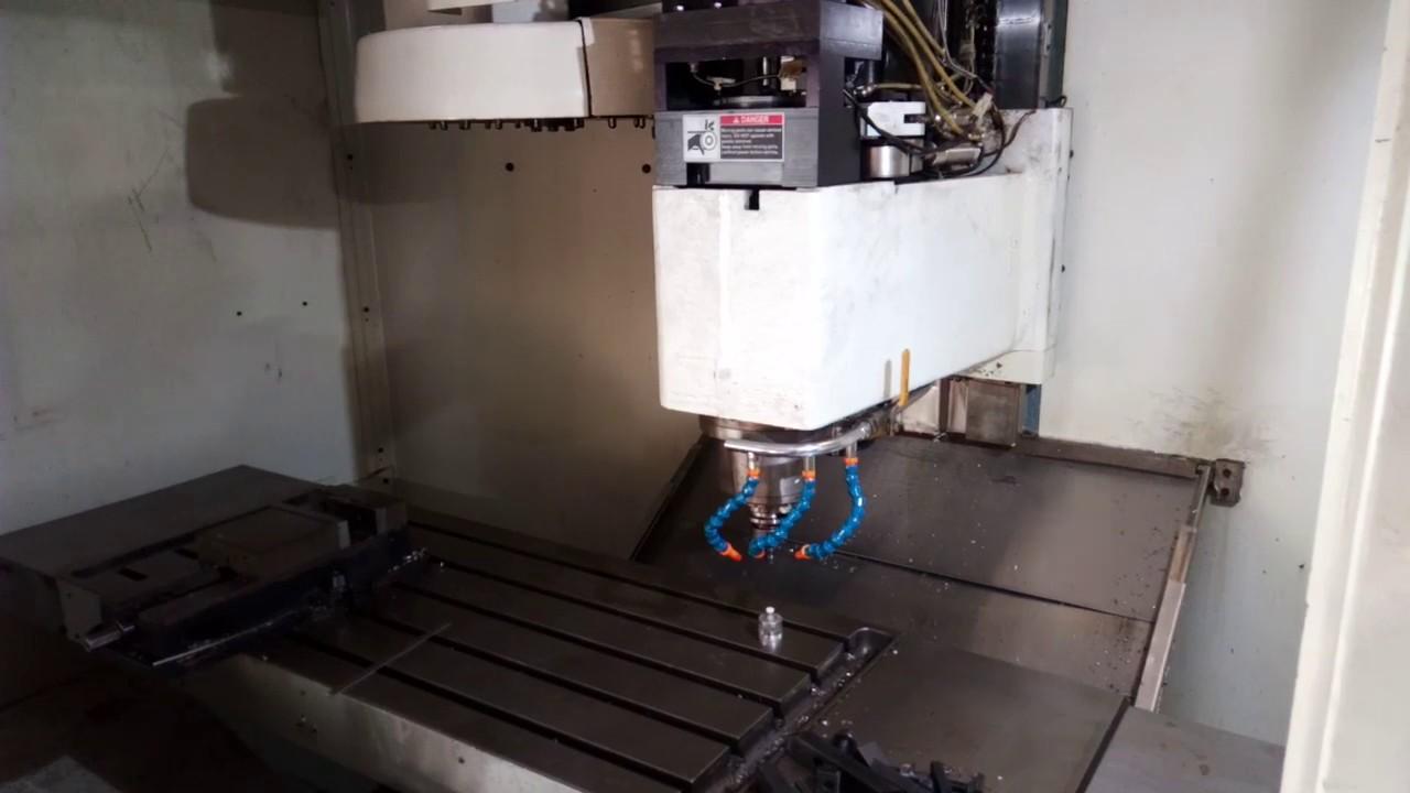 Fadal 4020 ATC Mill retrofit  Tool measure with wireless toolsetter