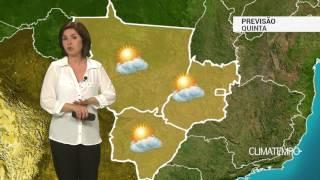 Previsão Centro-Oeste – Ar muito seco na região
