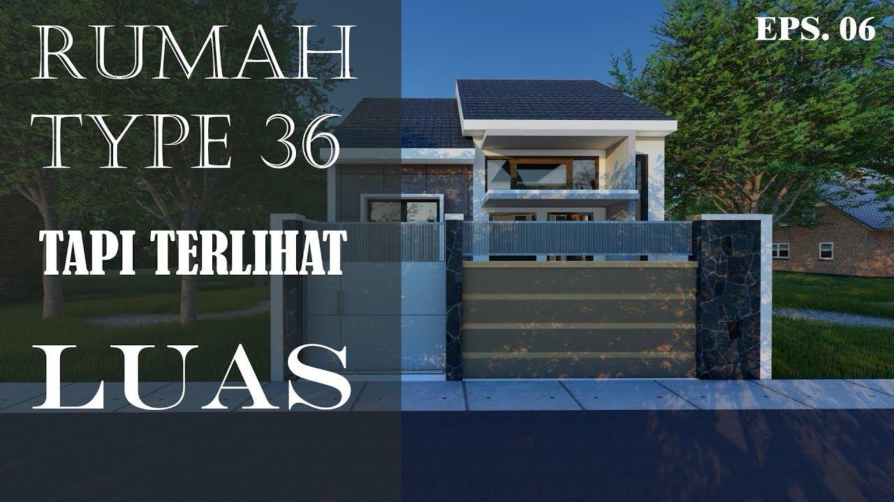 Rumah Type 36 minimalis Tapi Terlihat Luas dan Nyaman ...