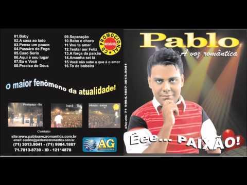 Pablo - A Voz Romântica - Vol.01 - CD 2010
