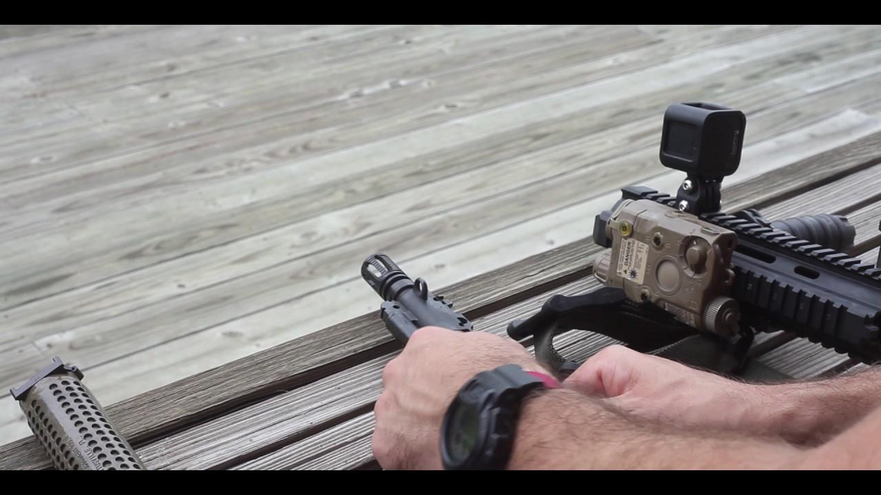 HK416 Field Strip - YouTube