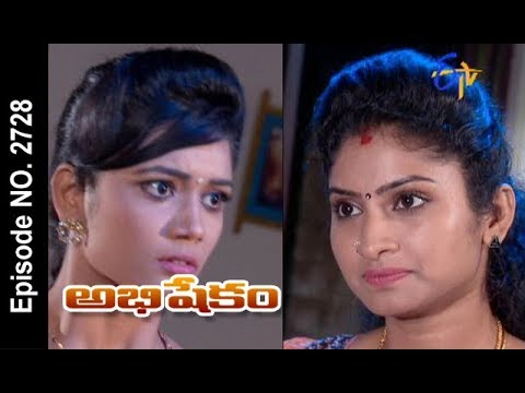 Abhishekam | 14th October 2017| Full Episode No 2728 | ETV Telugu