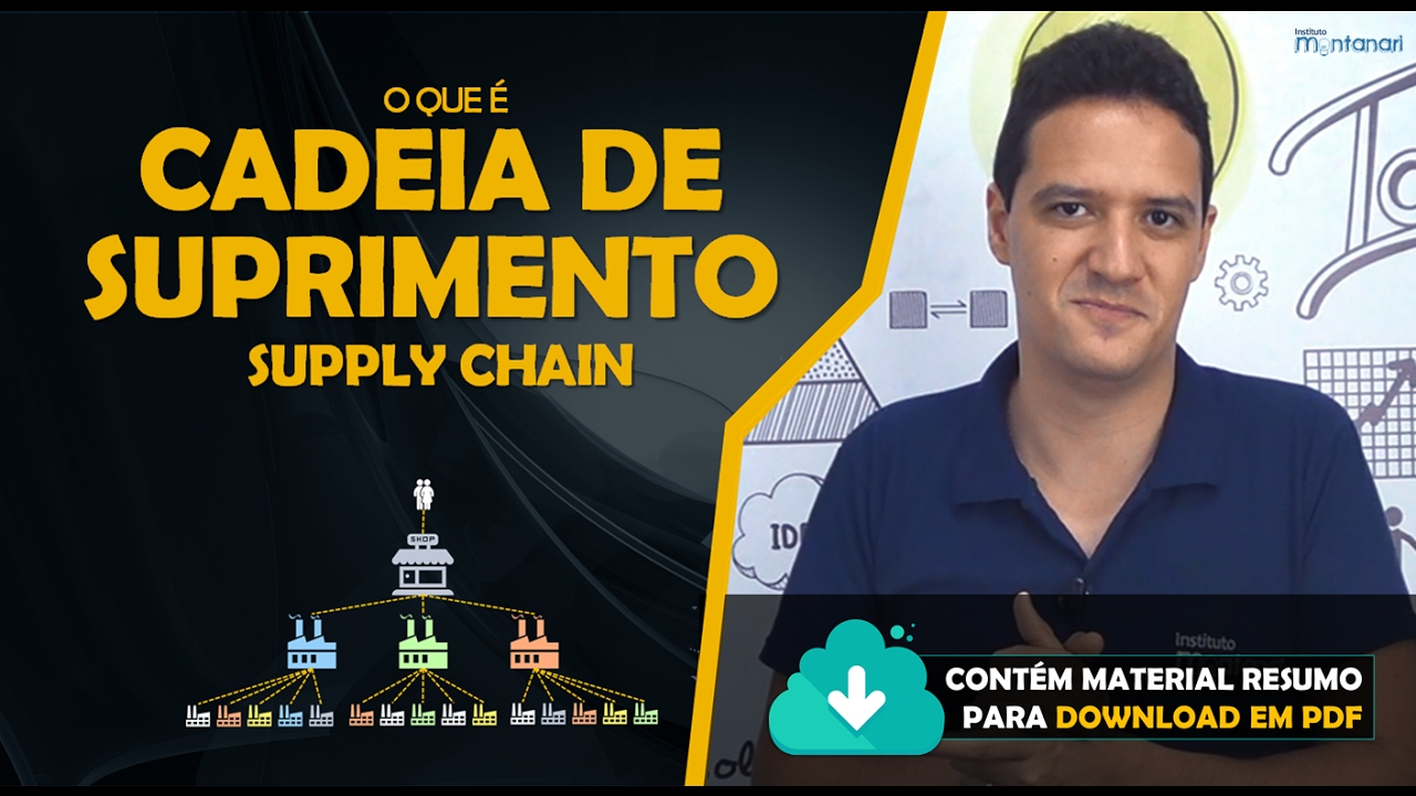 Cadeia De Suprimento O Que E Supply Chain Youtube