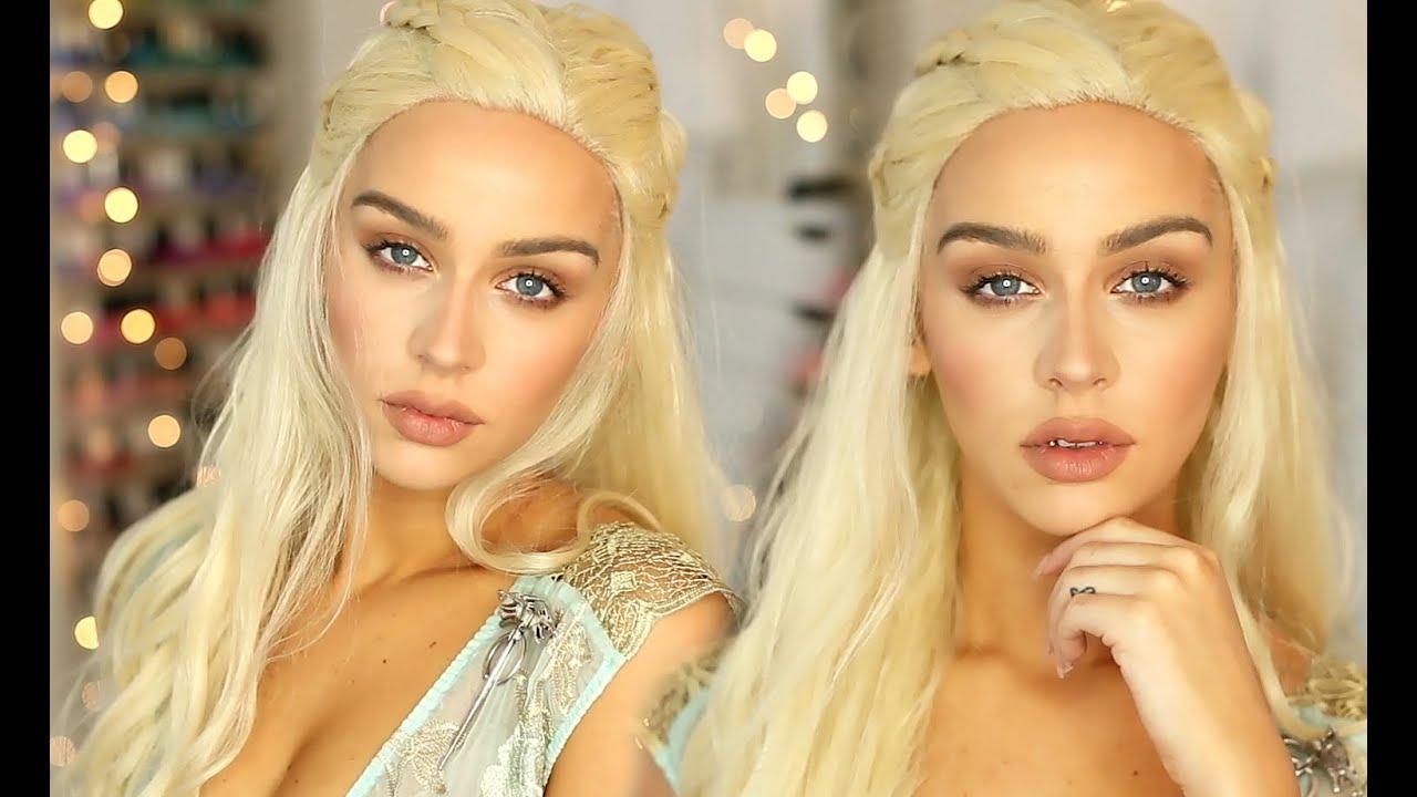 Daenerys khaleesi game of thrones makeup tutorial for Daenerys targaryen costume tutorial