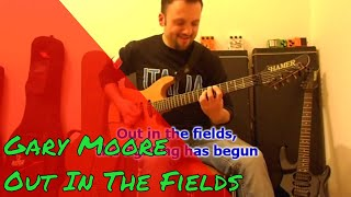 Out In The Fields ( Gary Moore - Phil Lynott ) Hamer Guitar Emg Pickups