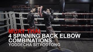 Baixar Muay Thai: 4 Spinning Back Elbow Combinations! | Evolve University