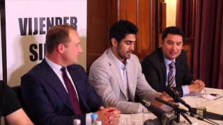 INDIAN AMATUER STAR VIJENDER SINGH SIGNS PROFESSIONAL BOXING CONTRACT - FULL PRESS CONFERENCE