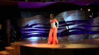Belly dancer Sharka - Modern Tabla Solo