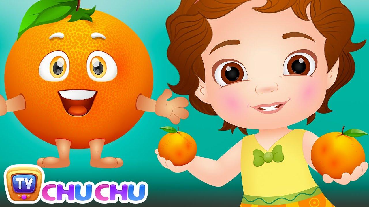 Orange Song (SINGLE) | Learn Fruits for Kids | Educational Songs & Nursery Rhymes by ChuChu TV