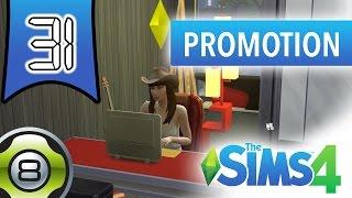 Les Sims 4 FR - Ep 31 - Caroline est promue rédactrice d