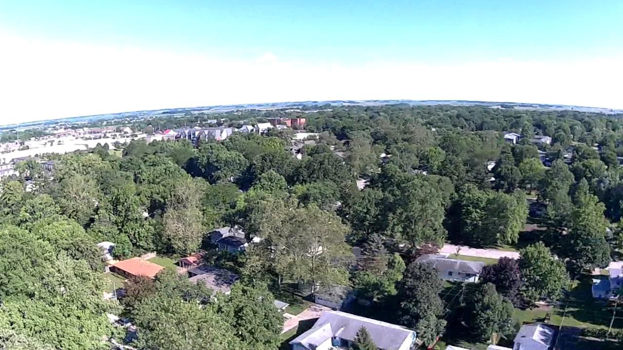 CHAMPAIGN, IL en drone